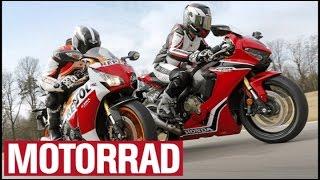Honda Fireblade 2017 vs. Honda Fireblade 2016