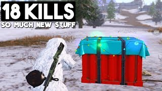 NEW SNOW MAP VIKENDI GAMEPLAY! | PUBG Mobile