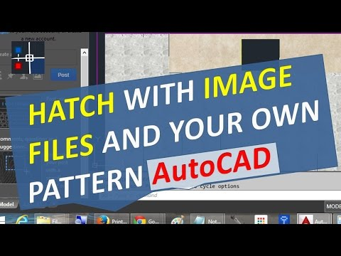 Hatch with image Files and your own Pattern AutoCAD with SUPERHATCH