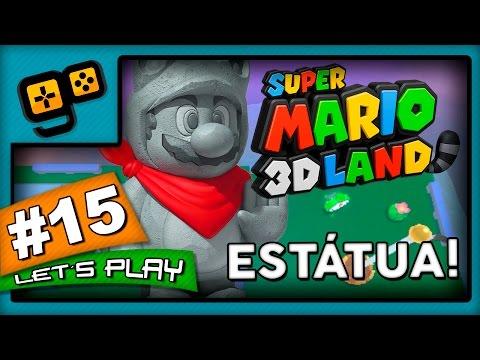 Let's Play: Super Mario 3D Land - Parte 15 - Estátua!