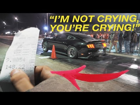 MY MUSTANG RAN IT'S FIRST 9 SECOND PASS!!