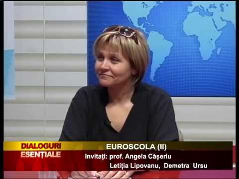 DIALOGURI ESENȚIALE: 19 APRILIE - EUROSCOLA (II)