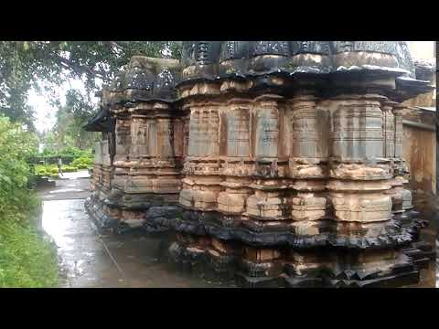 Tarakeshwara Temple  Kalyana Chalukyan style influenced by Hoysala architecture 9
