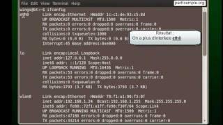 Configuration de l'interface réseau d'une machine Linux