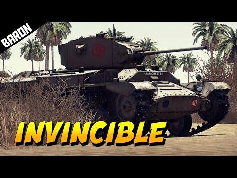 INVINCIBLE TANK Old Ironsides - War Thunder Tanks Gameplay