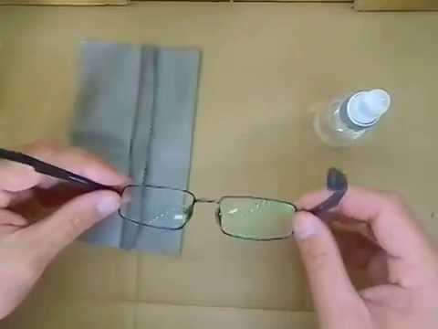 Comment nettoyer lunettes