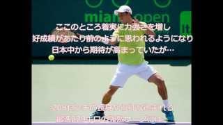 錦織圭 マイアミ・オープン2015 男子シングルス準々決勝