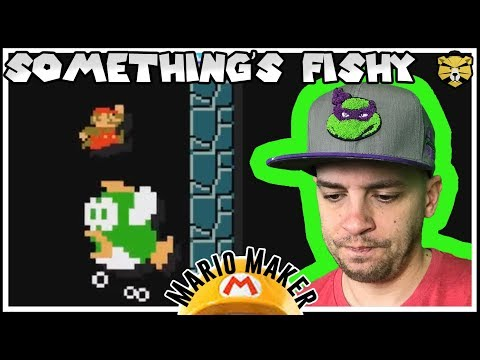 Braving The Cave! 0.47% Clear Rate! Super Mario Maker