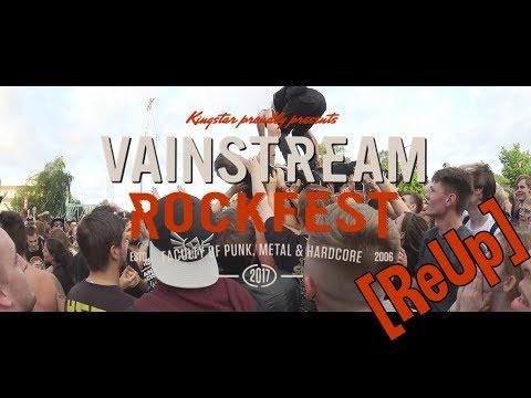 [ReUp] Vainstream '17 Vlog - Frühes Aufstehen und ein Kaputter Fuß