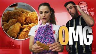 Mes crispy Tenders maison VS KFC, que va préférer Valouzz?