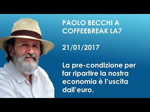 Paolo Becchi: La precondizione per far ripartire la nostra economia è l'uscita dall'euro
