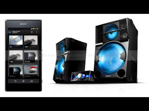 Sony SHAKE SongPal Application