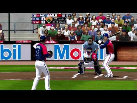 MLB 2K15 MOD 勇士王建民VS 金鶯陳偉殷- YouTube