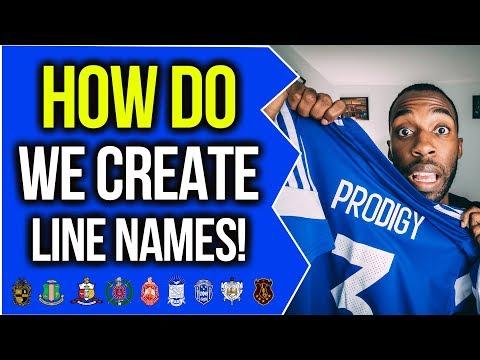 HOW DO WE CREATE LINE NAMES?! | NPHC ADVICE | COREY JONES