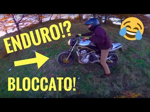 ENDURO CON QUELLA MOTO? OPS...