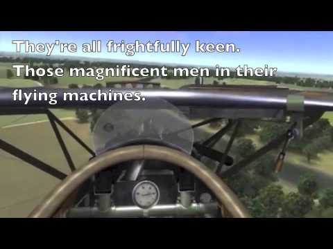 Those Magnificent Men in their Flying Machines lyrics