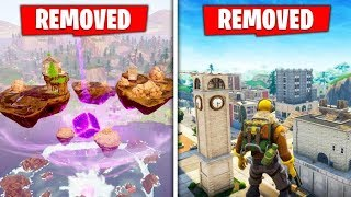 5 Locations Being REMOVED Before Season 7! (Fortnite)