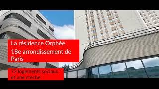 Inauguration de la résidence Orphée