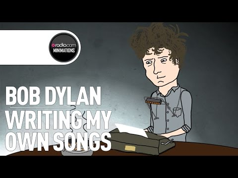 Bob Dylan on The First Song He Ever Wrote (Radio com Minimation)