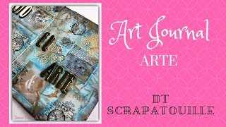 Art Journal ARTE DT Scrapatouille