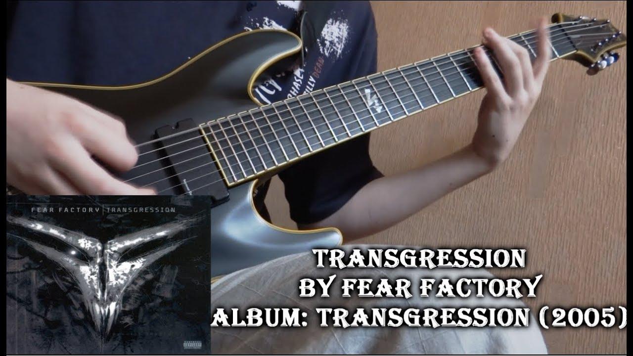 Fear Factory Transgression Guitar Cover By Godspeedy