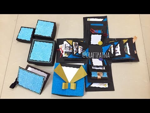 Explosion box for brother| Rakhi special| Handmade gifts for rakhi|Gift ideas for brother and sister
