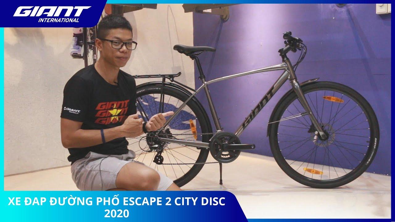 Review Xe Đạp Đường Phố Escape 2 City Disc 2020- CHÍNH HÃNG NHẬP KHẨU QUỐC TẾ – Giant International