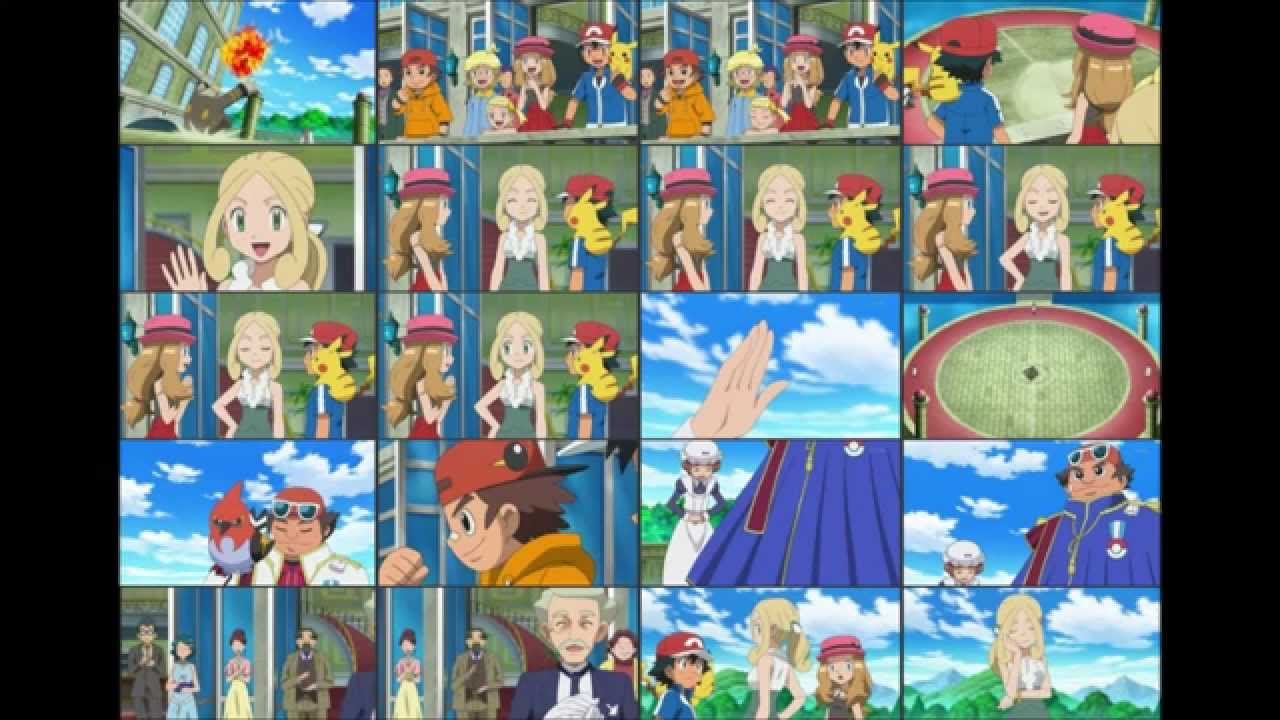 Pokemon Vs Diantha X And Y