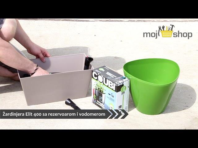 Kako sastaviti: Saksija sa rezervoarom - Uradi sam - Uputstvo za uporebu