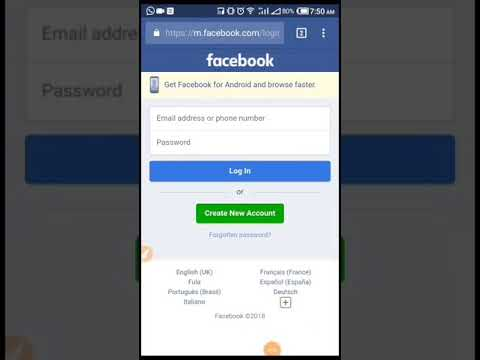 How to Reset/change/recover your forgotten facebook password