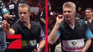 Fabian Hambüchen & Gary Anderson  vs. Stefan Effenberg & Max Hopp | Gruppenphase | Promi Darts WM