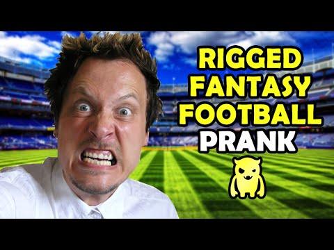Rigged Fantasy Football Prank - Ownage Pranks