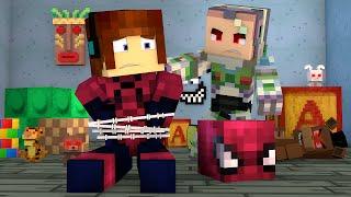 Minecraft : ATAQUE DOS BRINQUEDOS  - (Vida de Herói #13)
