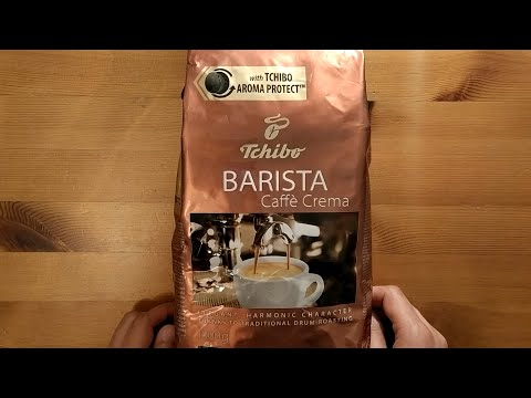 Tchibo Barista Caffe Crema Kahve Çekirdeği İncelemesi - Kahve Molası