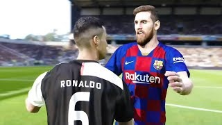 Messis in the Shape of Ronaldo XI vs. Ronaldos in the Shape of Messi XI Sim