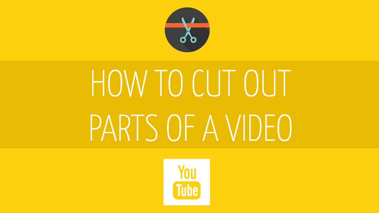 How to cut out a video or a frame from it