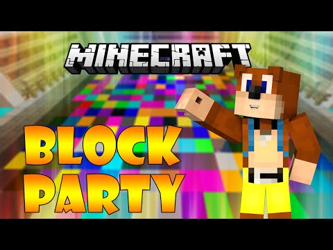 MineCraft Mini games - Block Party - TOP 3.. AGAIN