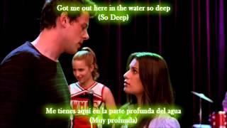 glee no air sub spanish with lyrics