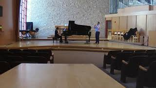 Concertino, Andre Jolivet - Live in Recital at Kansas State University