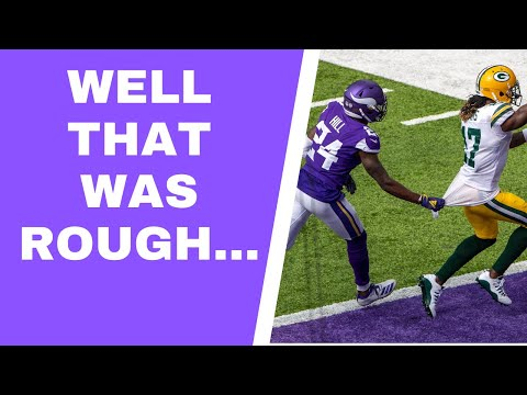 Minnesota Vikings Lose To Green Bay Packers: WHAT. WAS. THAT? (Vent Line)