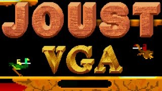 LGR - Joust VGA - DOS PC Game Review
