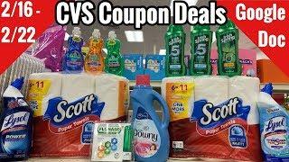 CVS Coupon Deals & Haul   2/16 - 2/22    Cheap Body Wash & Lysol + Household Deal 🙌🏽