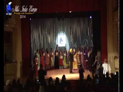GRAND FINALE-Miss India Europe-beauty with traditions