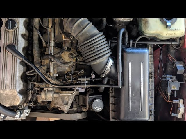 Jeep Cherokee Xj Vacuum Line Overview Youtube