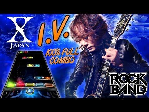 X Japan - I.V. 100% FC (Rock Band 4, Expert)