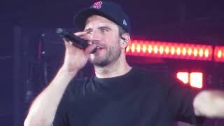 Sam Hunt singing Body like a Back Road in Concert at Fenway Park 7/6/18