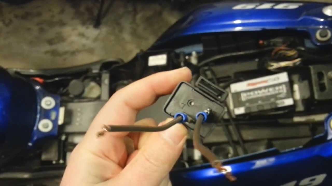 Honda Goldwing 1200 Wiring Diagram Fujitsu Ten Toyota Motorcycle Led Turn Signal Flasher Relay Blink Rate Fix 919 Youtube