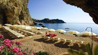 Atahotel Capotaormina. Sicily, Italy.(Онлайн путешествие по Сицилии. Отель Atahotel Capotaormina располагается на скале посреди моря, ниже по склону города..., 2015-06-28T07:04:38.000Z)