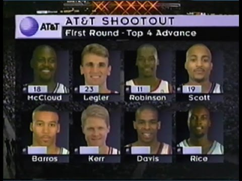 1996 NBA Three Point Shootout - 3 Point Contest - All Star Weekend