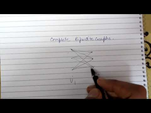 what is a complete bipartite graph